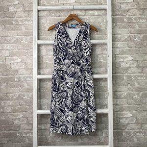 J McLaughlin Faux Wrap Dress Size Small